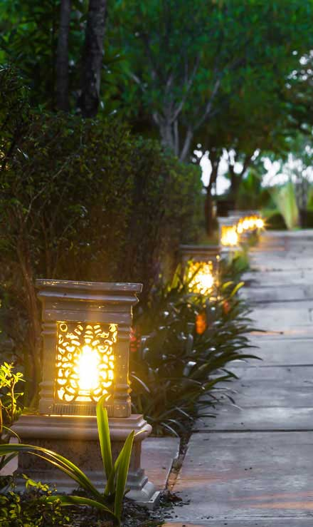 Valley Clean-up Services   Residential Landscape Lighting